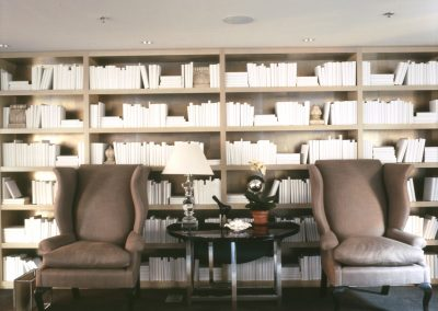 Lorien Hotel Chairs and Books